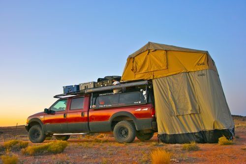 Roof Top Tent From Cascadia Vehicle Tents