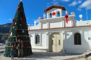 Christmas tree in guatemala