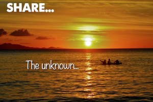 Share The unknown...