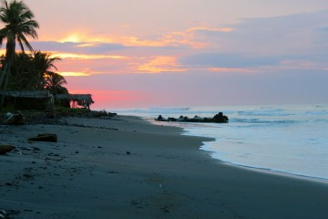 El Salvador beach