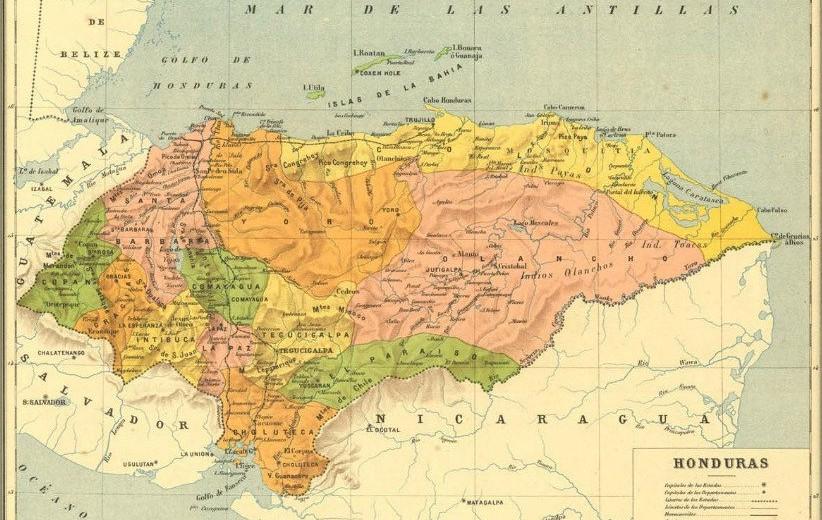 El SalvadorHonduras And HondurasNicaragua Border Crossing - Nicaragua map honduras