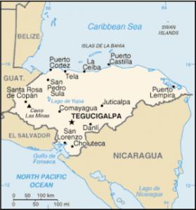 Border Crossing el salvador honduras nicaragua