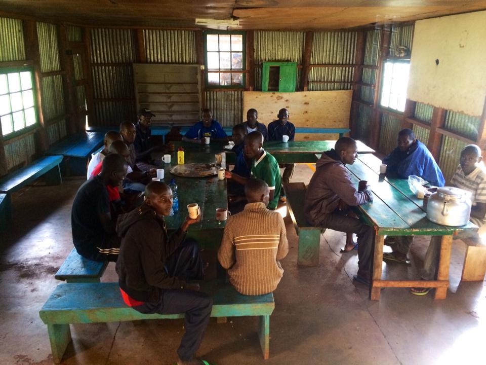Kitchen in Kenya