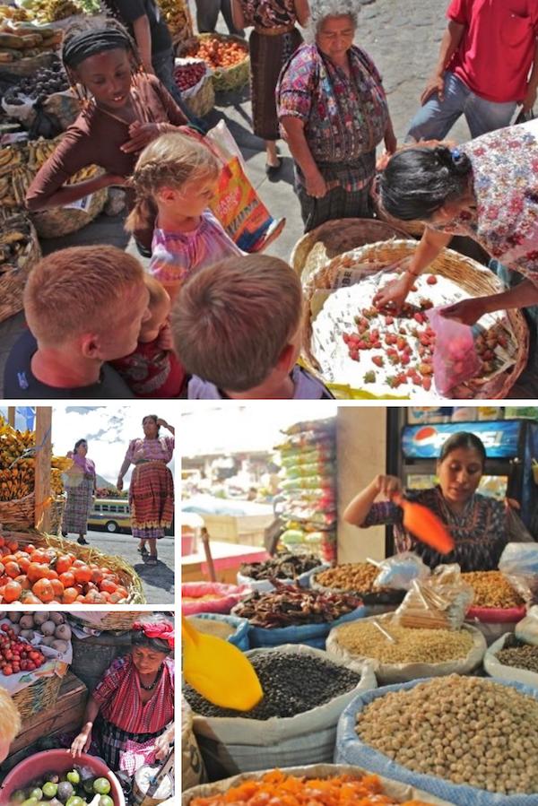 panajachel market guatemala